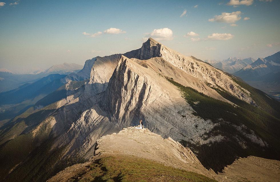 Banff wedding photographers for adventurous couples