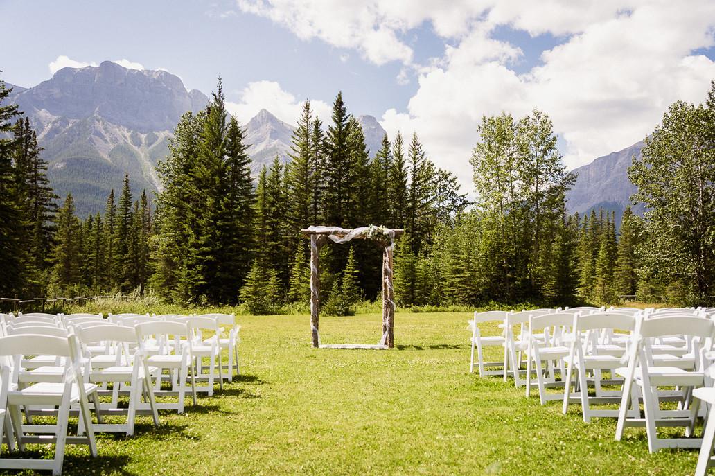Canmore Ranch wedding venue