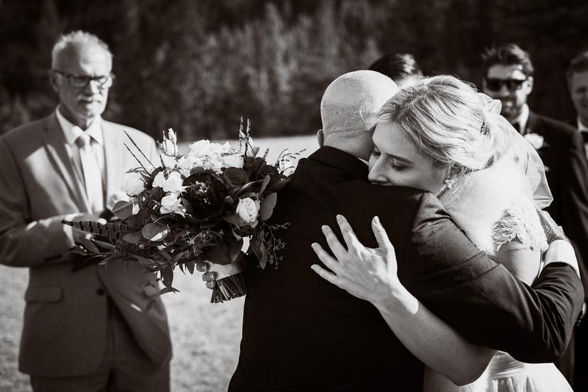 Tunnel Mountain wedding photographer