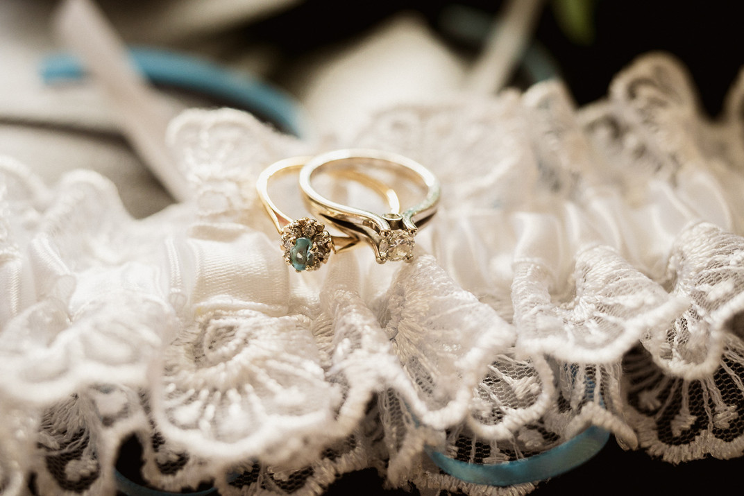 Canmore wedding photographer and ring shot