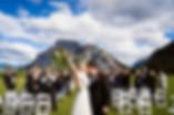 Banff wedding photographer at Tunnel Mountain Reservoir