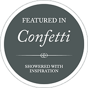 Banff wedding photographers featured in Confetti Magazine