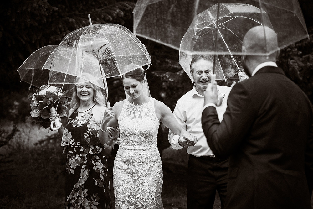 Canmore Nordic Centre wedding photographer captures emotional first look