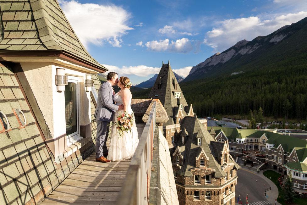 Banff springs hotel wedding photographers