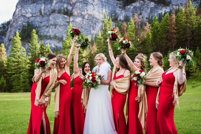 Bridesmaid and Bridal dresses in Banff