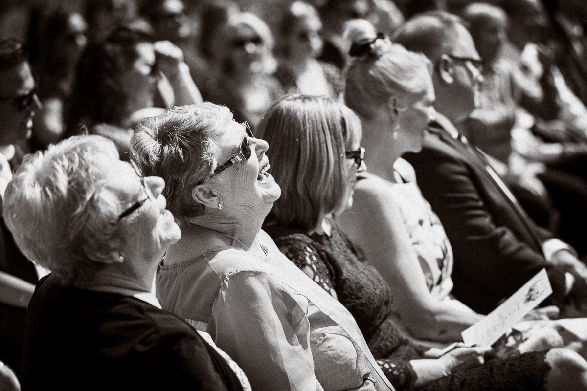 Laughter and tears at Cornerstone Theatre wedding ceremony