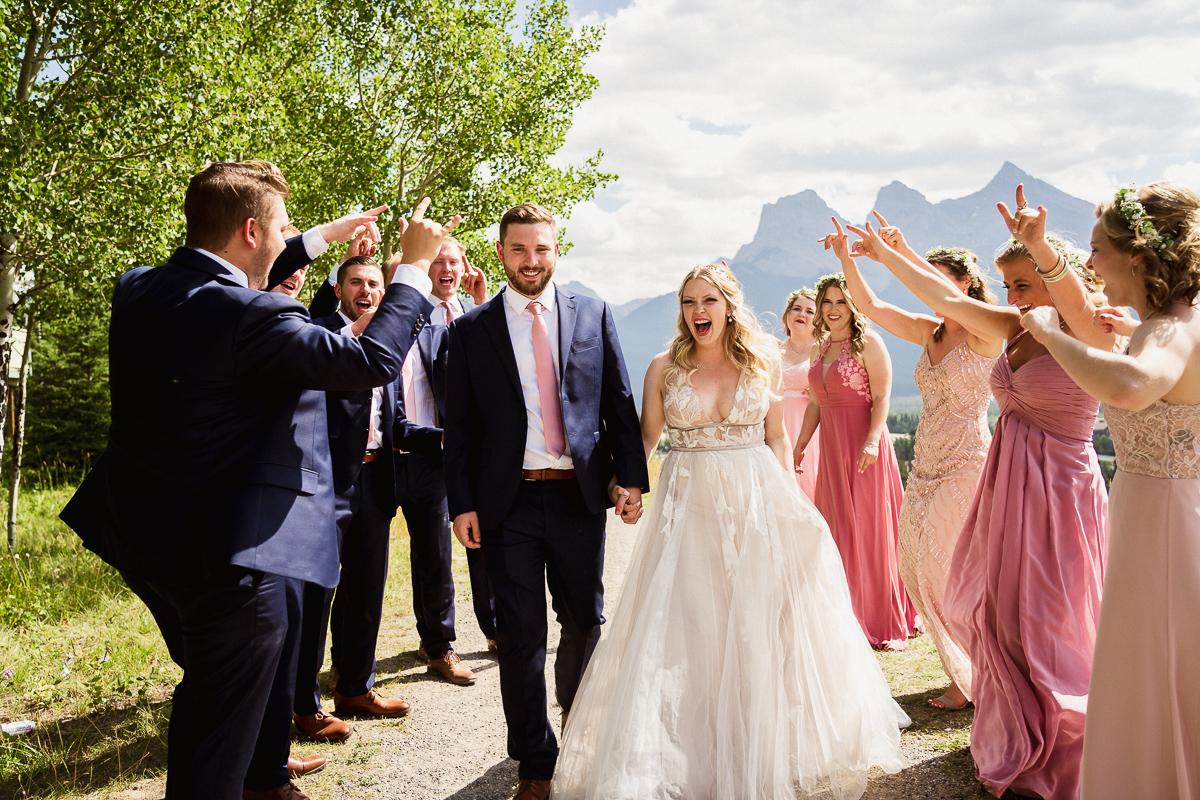 Beautiful landscape wedding photos at Cornerstone Theatre wedding
