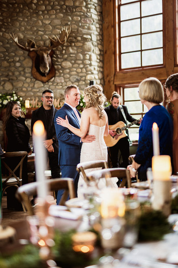 Banff wedding photograper natural, authentic, candid style