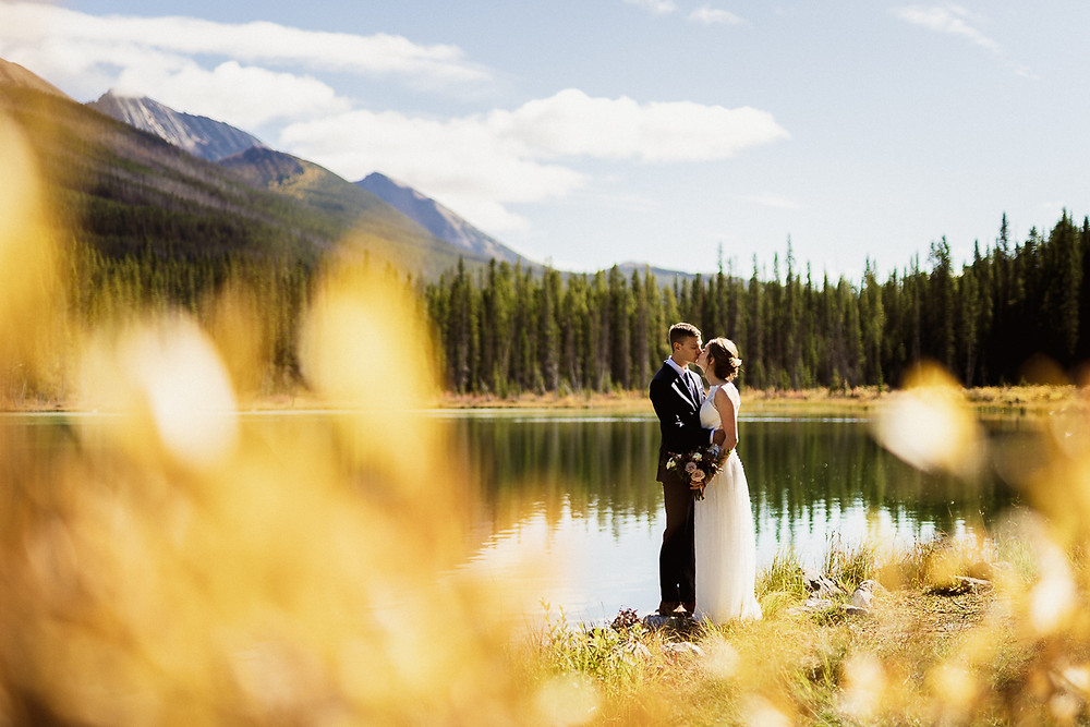 Mount Engadine Lodge wedding photographer