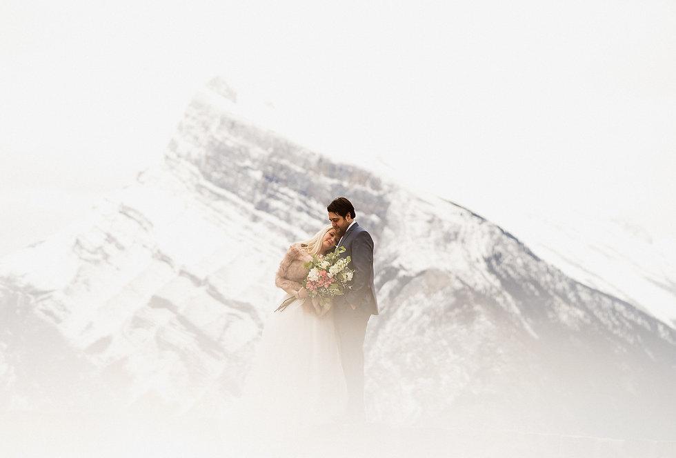 Contact Banff adventure wedding photographers