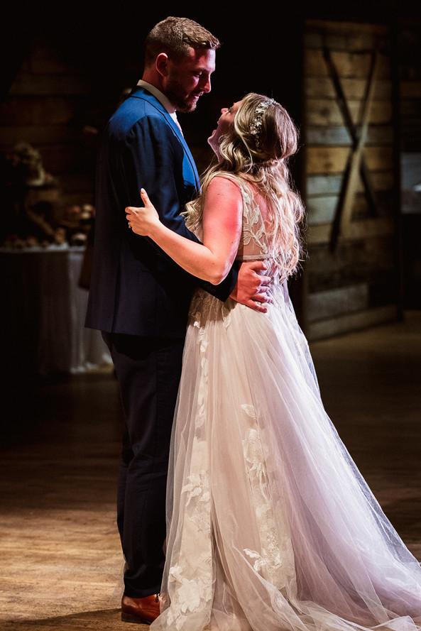 Cornerstone Theatre wedding first dance
