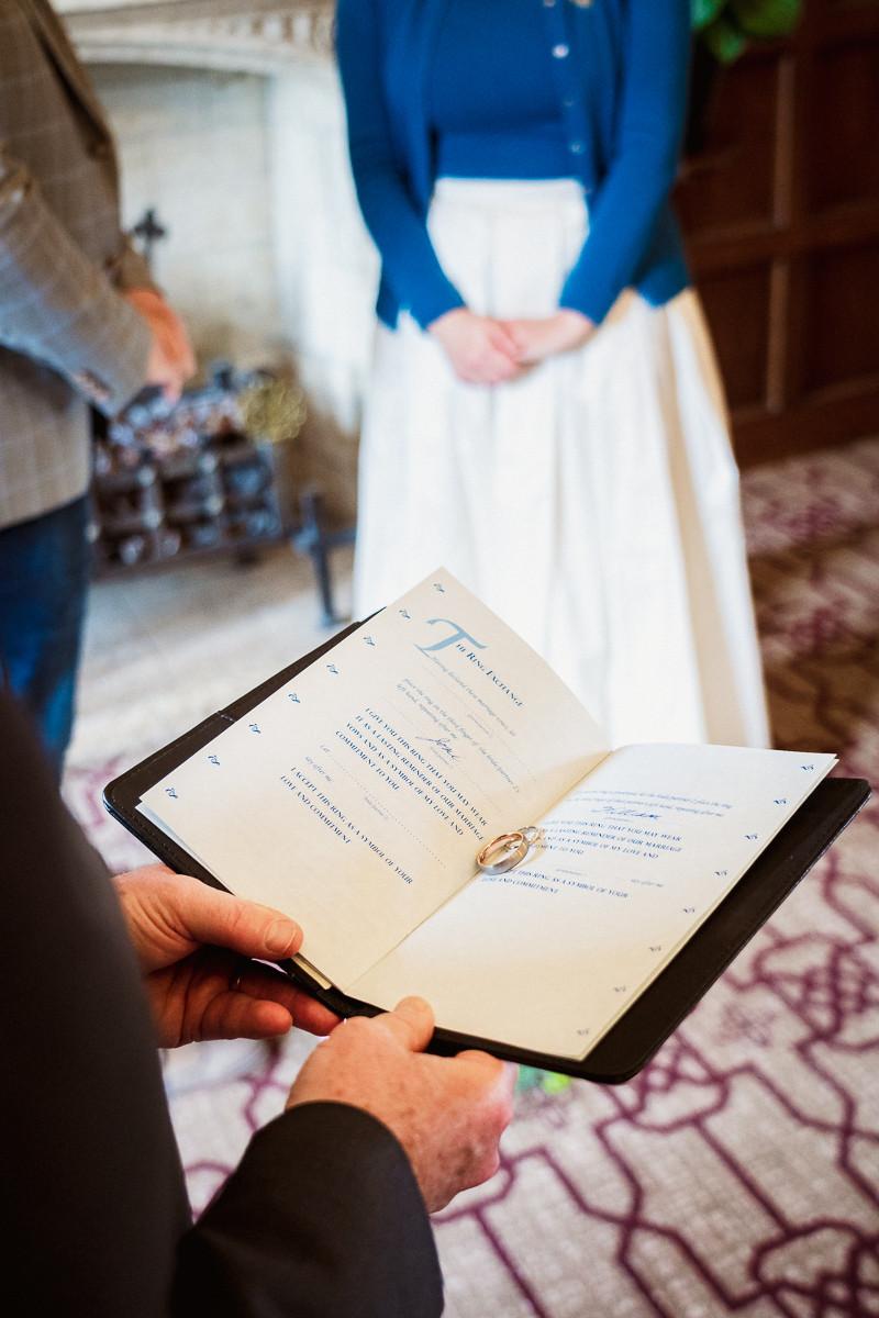Fairmont Banff Springs Hotel elopement ceremony