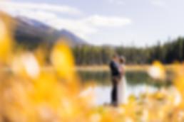 Wedding photographer in Canmore, Banff and Kananaskis