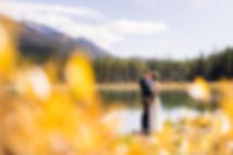 Kananaskis wedding photographer at Engadine Lodge