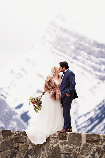 Mount Norquay Banff elopement photography
