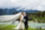 Banff wedding photographer at Engine Bridge