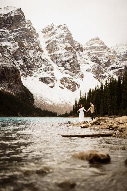 Moraine Lake wedding photography