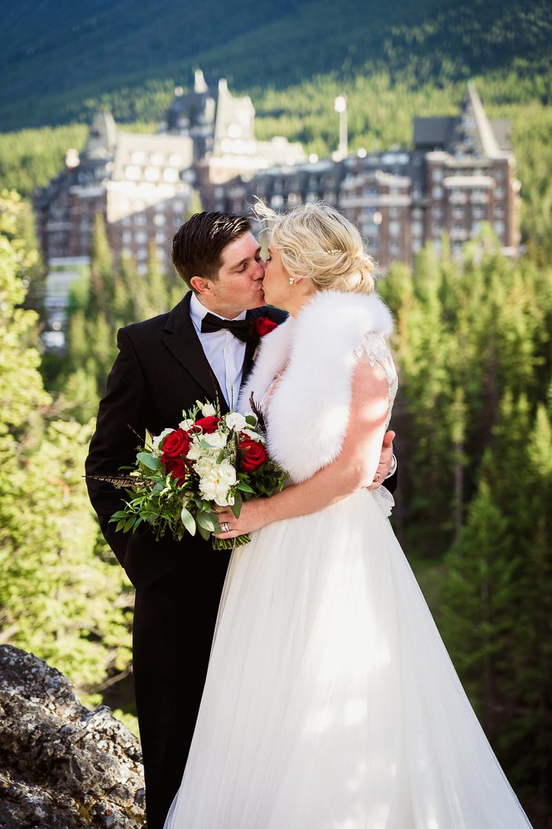 Wedding photos at surprise corner
