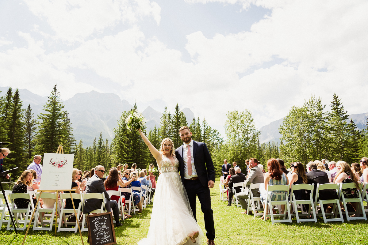Cornerstone Theatre wedding ceremony at Canmore Ranch