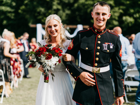 Red, White and Dress Blues