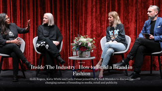Inside The Industry | How to Build a Brand in Fashion