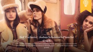 Joshua Schulman's Plans for Coach