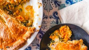 Recipe: Sourdough Discard Salmon Pot Pie