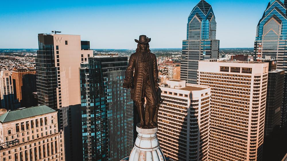 stock photo Philly skyline