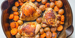 Recipe: Herb Roasted Chicken Thighs