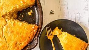 Recipe: Sourdough Discard Honey Rosemary Cornbread