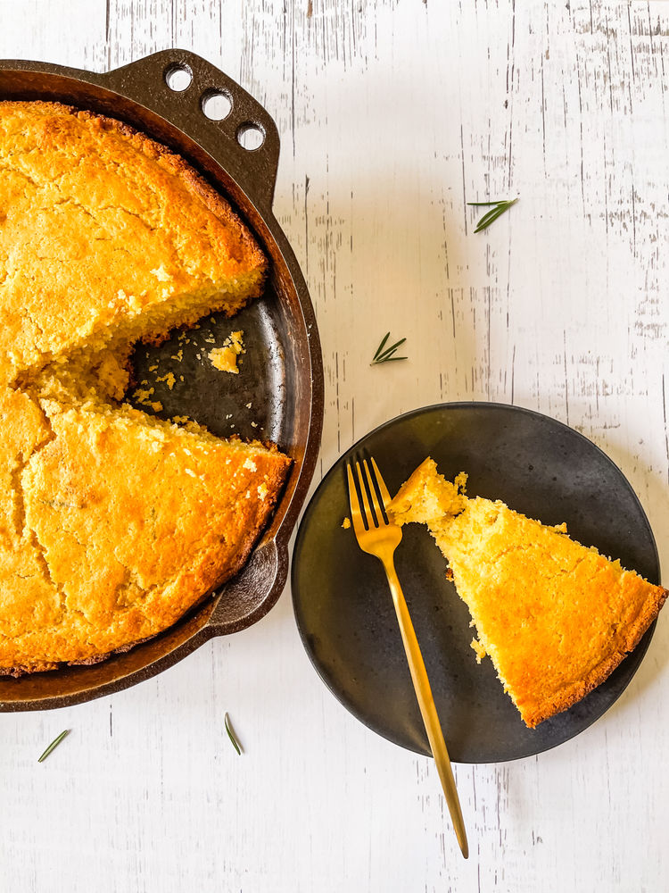 Recipe: Sourdough Discard Honey Rosemary Cornbread