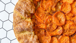 Recipe: Sourdough Discard Sweet Potato Galette