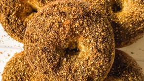 Recipe: White Cheddar Za'atar Sourdough Bagels