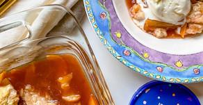 Recipe: Sourdough Discard Peach Cobbler