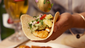 Recipe: Fish Tacos with Pineapple Salsa And Cashew Cream