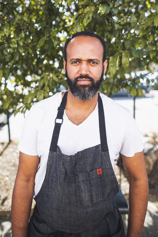 Photo of chef Elias Taddesse