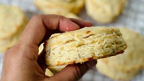 Recipe: Sourdough Discard Cheddar Biscuits