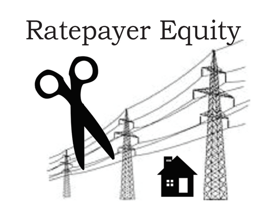 Ratepayer equity– entitles each residential household to 3500kWhr per year for free. Puts burden of cost on unsustainable industrial practices.