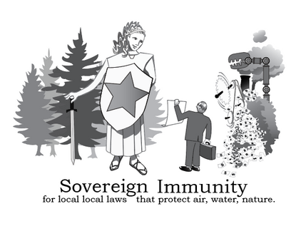 Powerful interests with deep pockets can use costly litigation to intimidate and crush local efforts to protect air and water quality and to preserve nature. This useful tool builds on our Federal system and recruits the State of Maine to be a party to any suits against municipalities in protecting the environment.