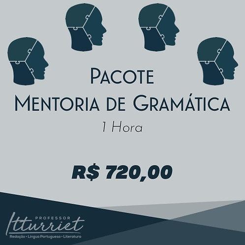 Pacote de Mentorias de Gramática 1 Hora