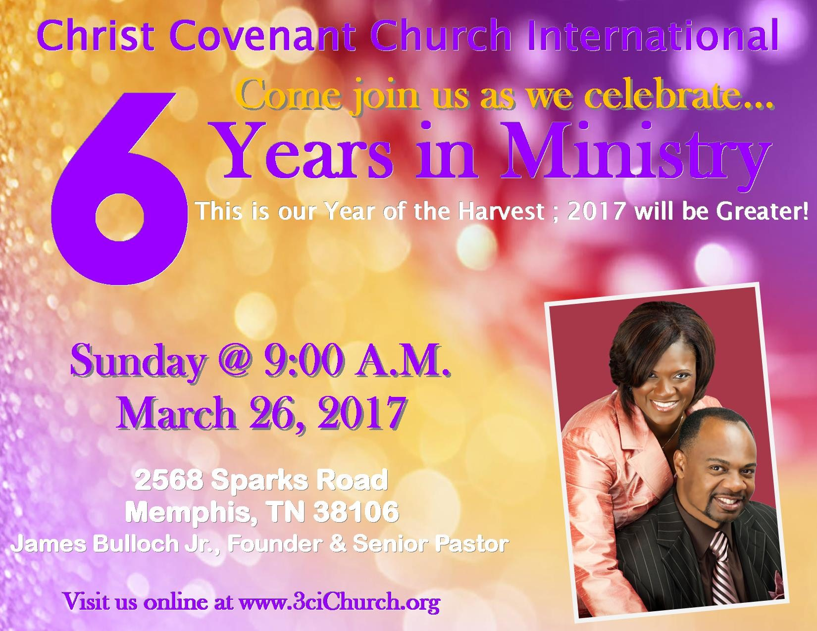6 Years in Ministry