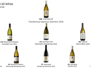 "Top9 All White Season 2018 – Find out the results of our ""All White"" wines tasting in South Africa"