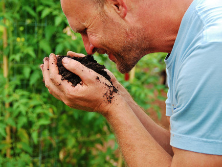 Stop and smell the compost.