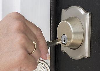 ドアのロックを解除
