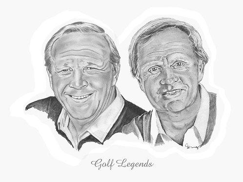 Palmer & Nicklaus - Golf Legends