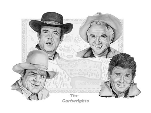 Bonanza - The Cartwrights