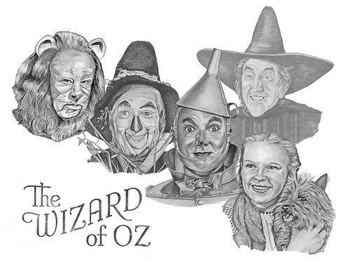 Wizard of Oz - Collage