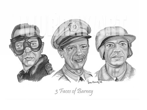 Three Faces of Barney