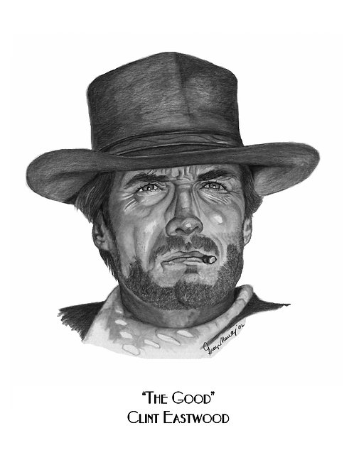 Clint Eastwood - Good, The Bad, and the Ugly