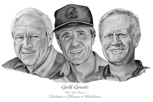 Palmer, Player, Nicklaus - The Big Three